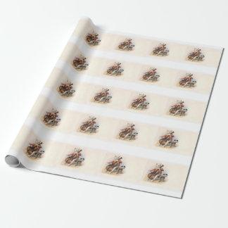 Chat musical - enveloppe de cadeau parfaite pour papier cadeau