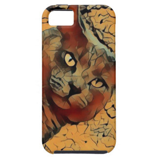 Chat mystérieux coque iPhone 5 Case-Mate