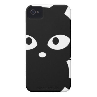 Chat noir aimable coque Case-Mate iPhone 4