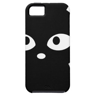 Chat noir aimable coque iPhone 5 Case-Mate