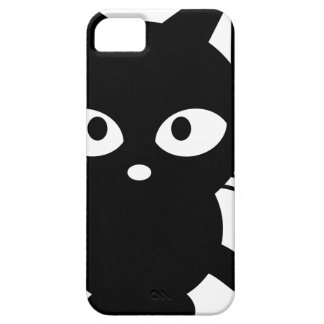 Chat noir aimable iPhone 5 case