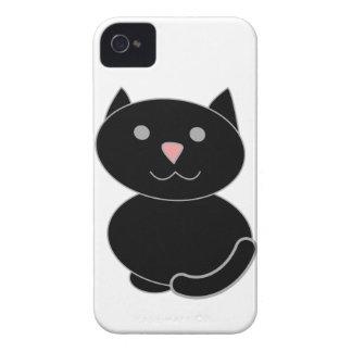 Chat noir de Kawaii Coques Case-Mate iPhone 4