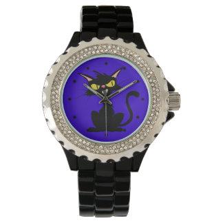 Chat noir montres