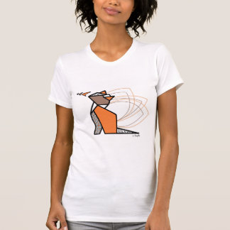 Chat origami t-shirt