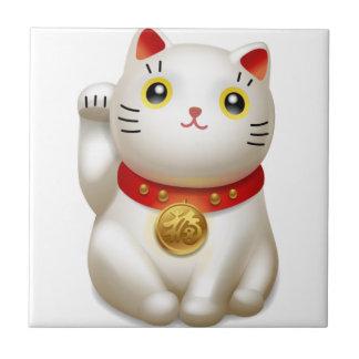 chat petit carreau carré