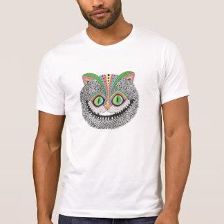 Chat psychédélique de Cheshire T-shirt
