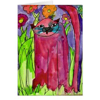 Chat rouge • Bianca Saad, vieillissent 8 - carte