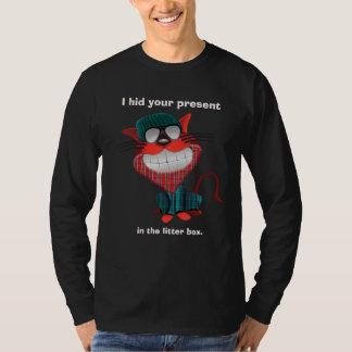 Chat sarcastique de hippie t-shirt