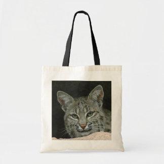 Chat sauvage sacs fourre-tout