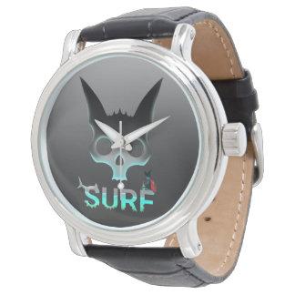 Chat urbain de cool de graffiti de surf montres bracelet
