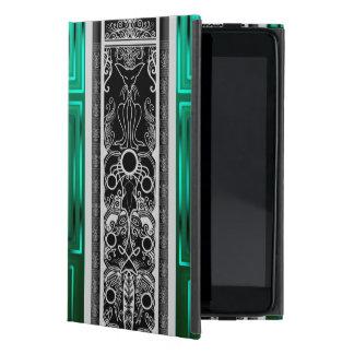Chat vert de rouleau coque iPad mini