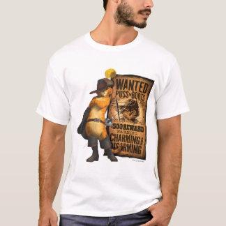 Chat voulu dans les bottes (char) t-shirt