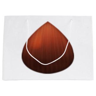 Châtaigne - Emoji Grand Sac Cadeau