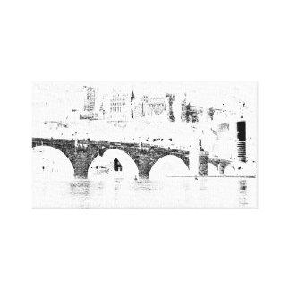 """Château Allemagne 12"""" d'Heidelberg"""" copie X12 Toile"""
