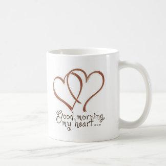 Château - bonjour, mon coeur [avec la citation] mug