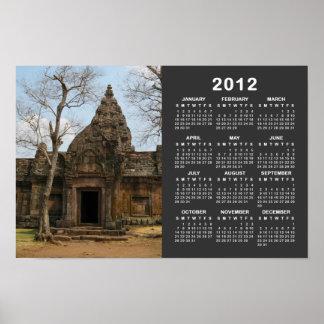 Château… Buriram calendrier de Khmer d Isaan 2012 Posters