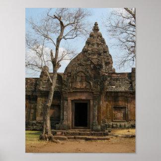 Château… Buriram, Isaan, Thaïlande de Khmer Posters
