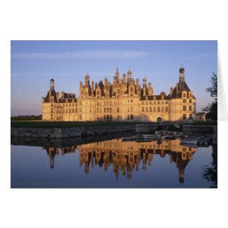 Château Chambord, le Val de Loire, France Cartes