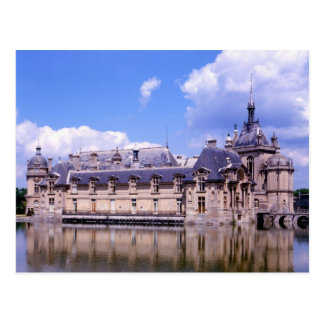 Château Chantilly, l'Oise, France Carte Postale
