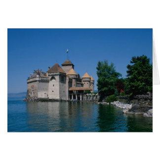 Château Chillon, canton du Lac Léman, Vaud, Cartes