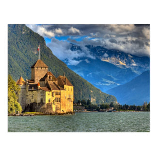 Château Chinon 4 Cartes Postales