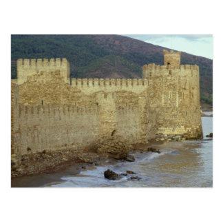 Château, construit par les croisés carte postale