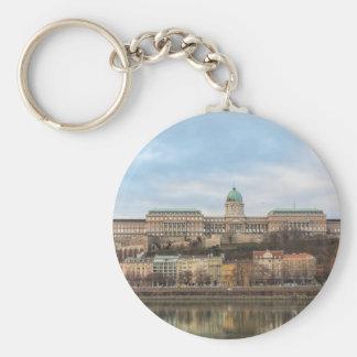 Château de Buda Hongrie Budapest au jour Porte-clé Rond