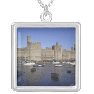 Château de Caernarfon, Gwynedd, Pays de Galles Pendentif Carré