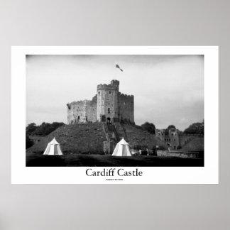 Château de Cardiff Affiche