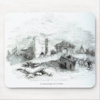 Château de Carisbrook, île de Wight Tapis De Souris