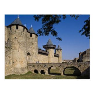 Château de comptes, Carcassonne, l'Aude, Carte Postale