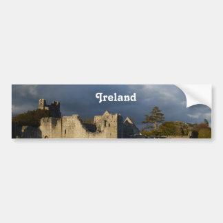 Château de Desmond dans Adare Irlande Autocollant De Voiture