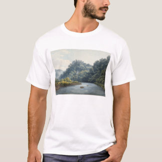 Château de Goodrich sur le montage en étoile (la T-shirt