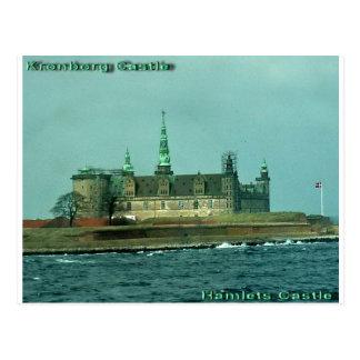 Château de hameaux de château de Kronborgs au Carte Postale