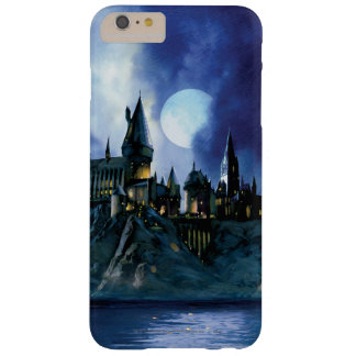 Château de Harry Potter | Hogwarts la nuit Coque Barely There iPhone 6 Plus