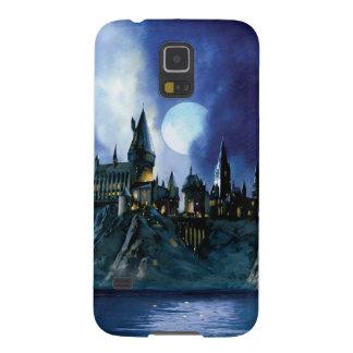 Château de Harry Potter | Hogwarts la nuit Coque Galaxy S5