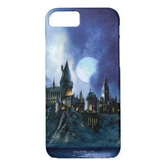 Château de Harry Potter | Hogwarts la nuit Coque iPhone 7