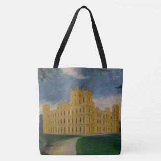 Château de Highclere - abbaye de Downton Tote Bag
