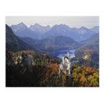 Château de l'Allemagne, Bavière, Neuschwanstein. R Cartes Postales
