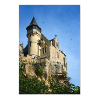 Château de Montfort, Dordogne, France Impression Photo