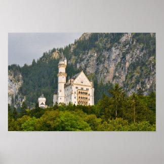Château de Neuschwanstein en Bavière Allemagne Posters
