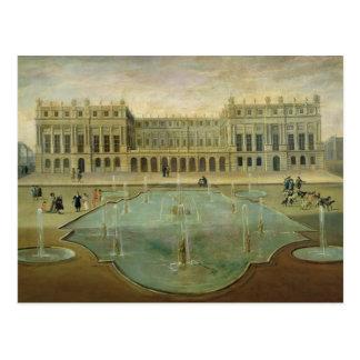 Château De Versailles du côté de jardin Carte Postale