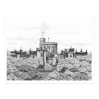 Château de Windsor d'imaginaire - carte postale