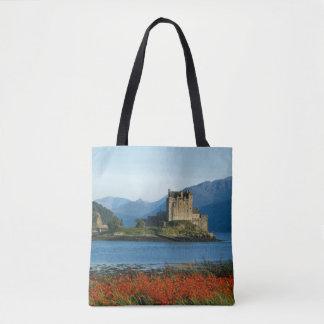 Château d'Eilean Donan, montagnes, Ecosse 3 Sac