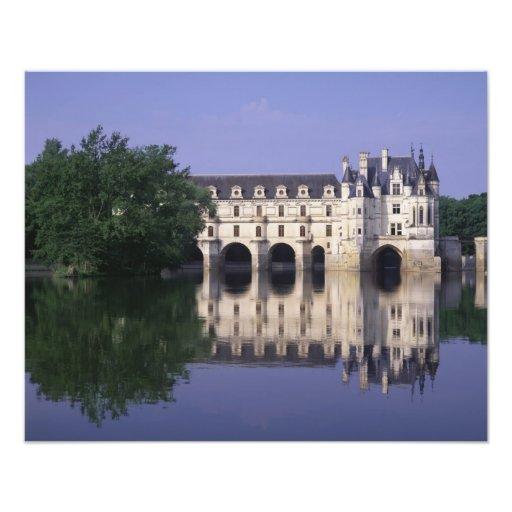 Chateau du Chenonceau, le Val de Loire, Photo D'art