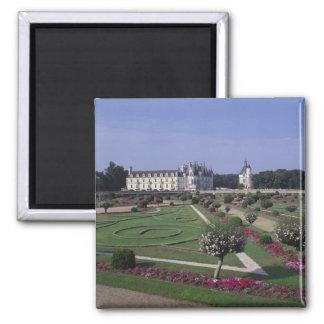 Chateau du Chenonceau, le Val de Loire, Magnet Carré