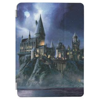 Château | Hogwarts éclairé par la lune de Harry Protection iPad Air