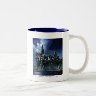 Château | Hogwarts éclairé par la lune de Harry Tasse 2 Couleurs