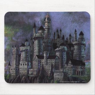 Château | Hogwarts magnifique de Harry Potter Tapis De Souris