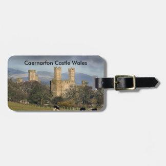 Château Pays de Galles de Caernarfon Étiquette Pour Bagages